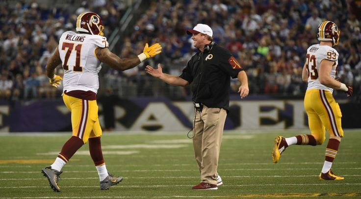 Jay Gruden weighs in on Trent Williams, team captain title