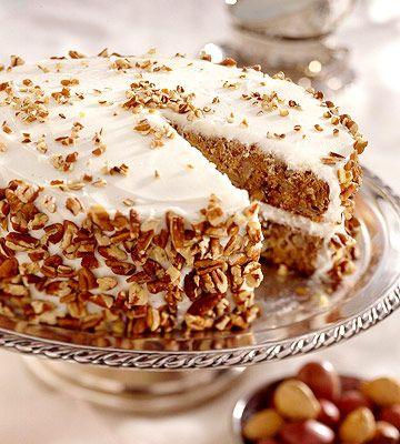 Hummingbird Cake, USA | pinneaple,bannana cake with nuts and spices
