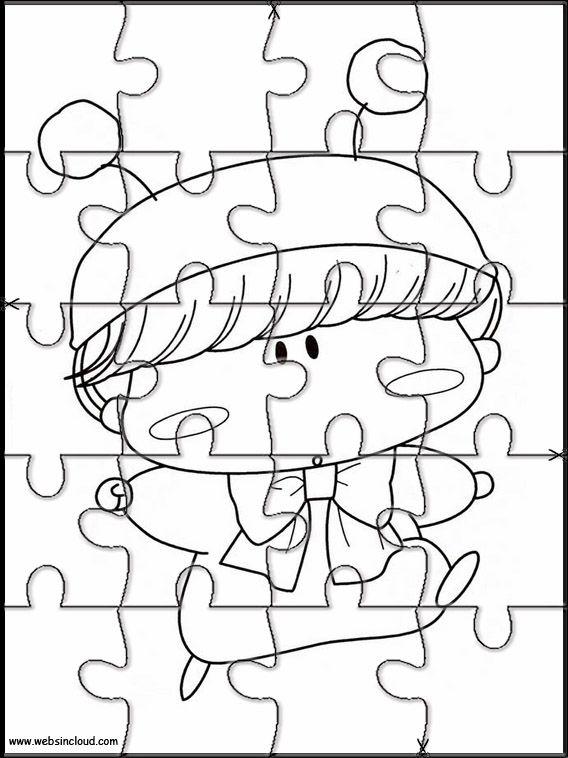 Dibujos De Jewelpet 011 Dibujos Y Juegos Para Pintar Y