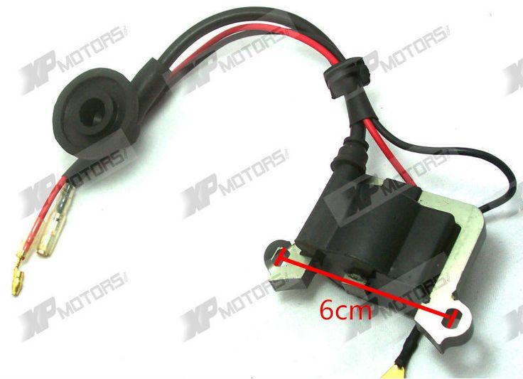 2-STROKE IGNITION COIL for 33cc 43cc 47cc 49cc 50cc POCKET DIRT BIKE ATV SCOOTER