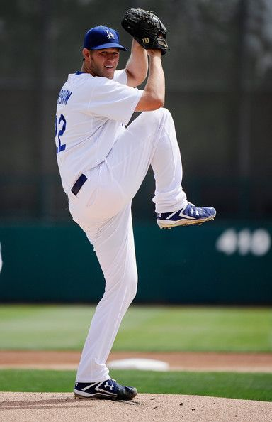 clayton kershaw | Clayton Kershaw Pitcher Clayton Kershaw #22 of the Los Angeles Dodgers ...