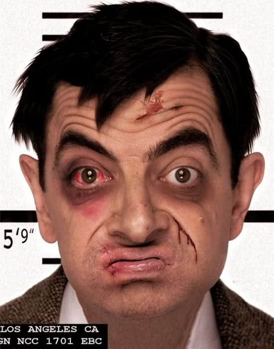 Celeb Horror Picture Show or Celebrities in trouble: Funny Celebrity, Funny Pictures, Mugs Shots, Funny Bones, Full Image, Funny Stuff, Celebrity Mugshots, Funny Photo, Mr Beans