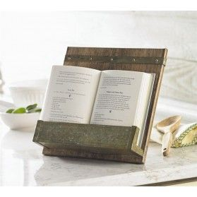 Rustic Cookbook Holder - by Mud Pie (4721001)