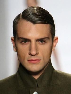 Examples Of 1940 S Male Hairstyle Both For Everyday And In The Army