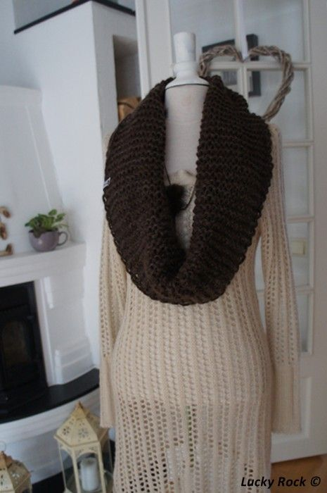 Free pattern (only in norwegian): Chunky Cowl