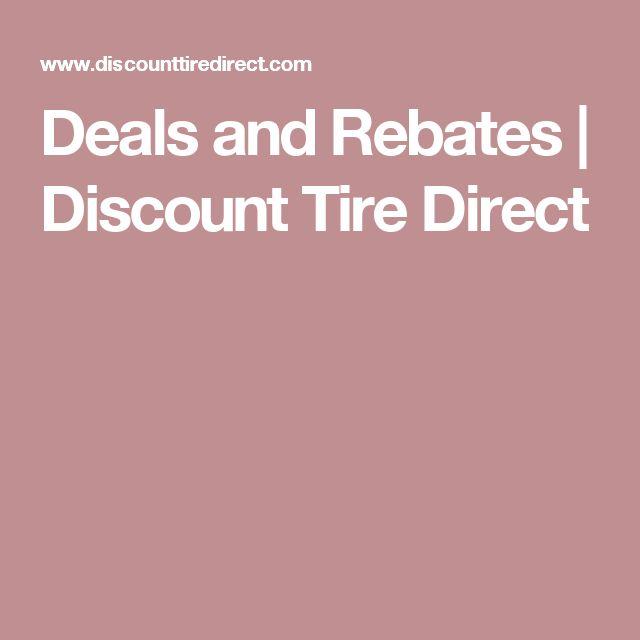 Deals and Rebates | Discount Tire Direct