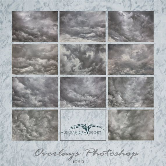 Sky Cloudy, Sky Overlays , Cloud Overlays,Photography Overlays, Photoshop Overlays , Part 2