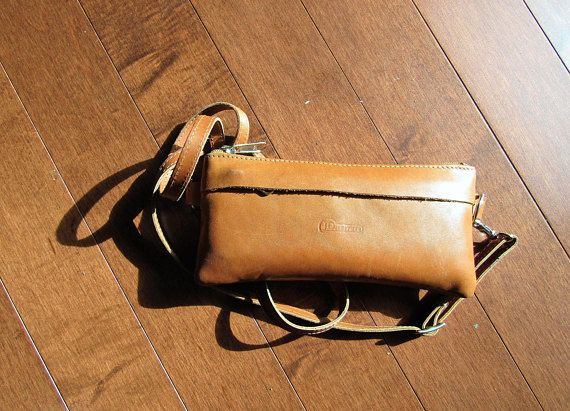 Tenaz Leather Wallet with strap.  Genuine leather products, designed and shipped from Dominican Republic.
