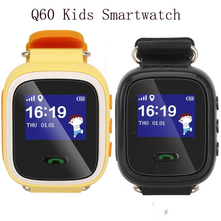 Buy  Q60 Children Smart Wrist Watch SOS GPS GSM GPR Location Finder Locator Device Tracker for Kid Baby Safety Anti Lost Monitor Gift