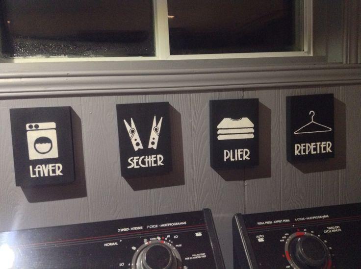 Les 31 meilleures images propos de buanderie cellier sur for Tableau pour salle a manger