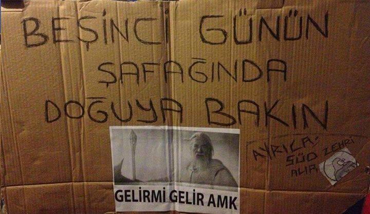 #occupygezi gandalf