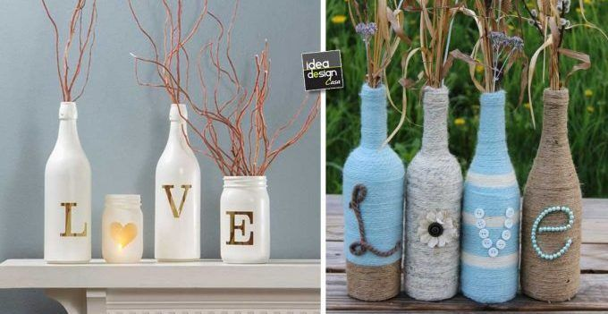 Oltre 25 fantastiche idee su decorare barattoli di vetro su pinterest barattoli di vetro - Bottiglie vetro ikea ...