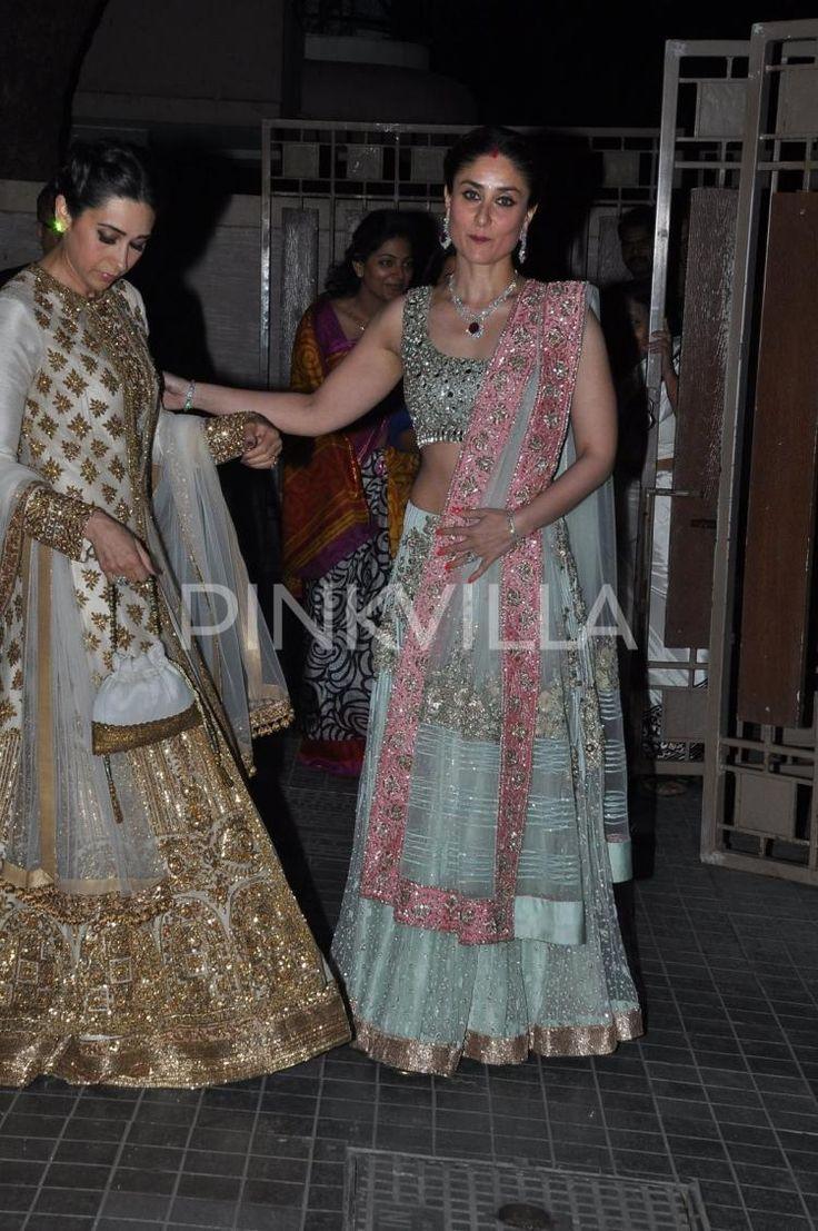 Karisma, Babita, Kareena, Saif at Soha's wedding reception | PINKVILLA