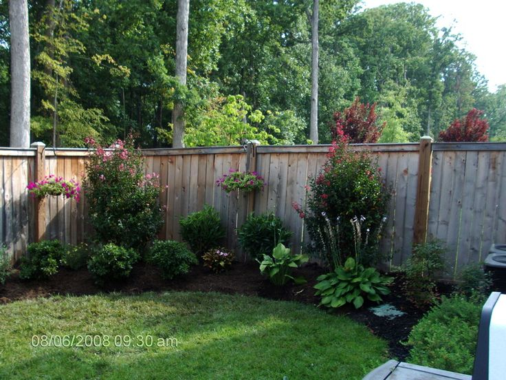33 best Garden:Landscaping Along the Fence images on Pinterest ...
