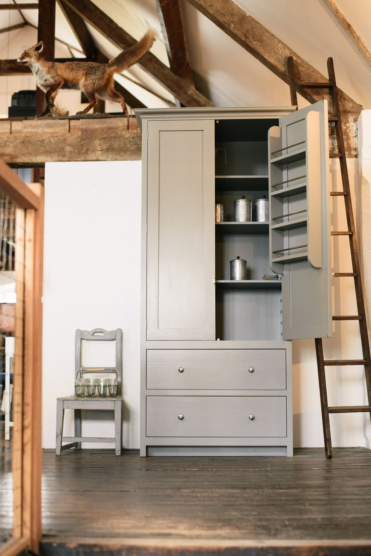 A shaker pantry cupboard and a little fox - 341 Best Primitive Cupboards Images On Pinterest Primitive