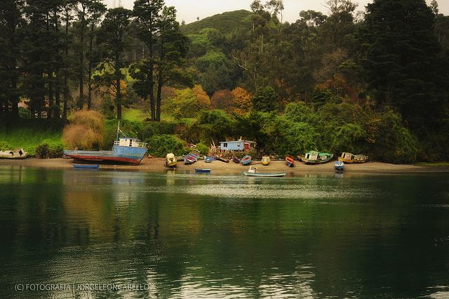 puerto montt chile | ... los botes - Isla Tenglo (Patagonia - Chile) | Flickr - Photo Sharing