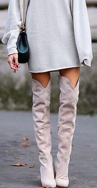 #winter #fashion / gray + gray