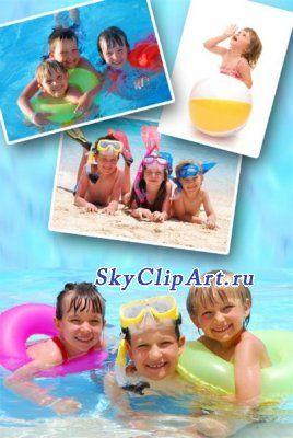 Дети на пляже (подборка фото)