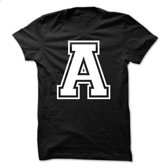 Letter A Tshirt Name Initials Design - #t shirt design website #business shirts. ORDER NOW => https://www.sunfrog.com/LifeStyle/Letter-A-Tshirt-Name-Initials-Design.html?id=60505