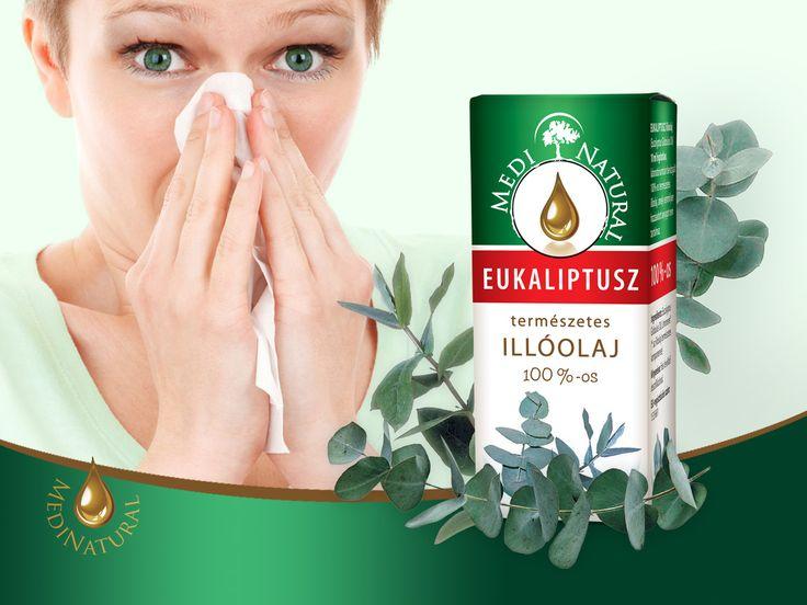 MEDINATURAL100%-os EUKALIPTUSZ ILLÓOLAJ/ Eucalyptus globulus oil/
