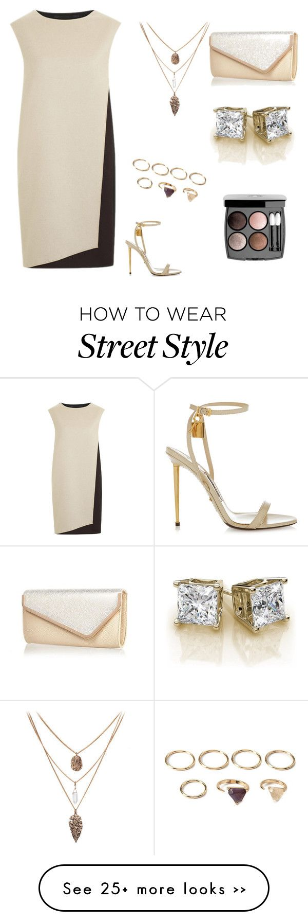 """Elegant Style!"" by alexandra2004 on Polyvore featuring PINGHE, Tom Ford, Forever 21, River Island and Chanel"