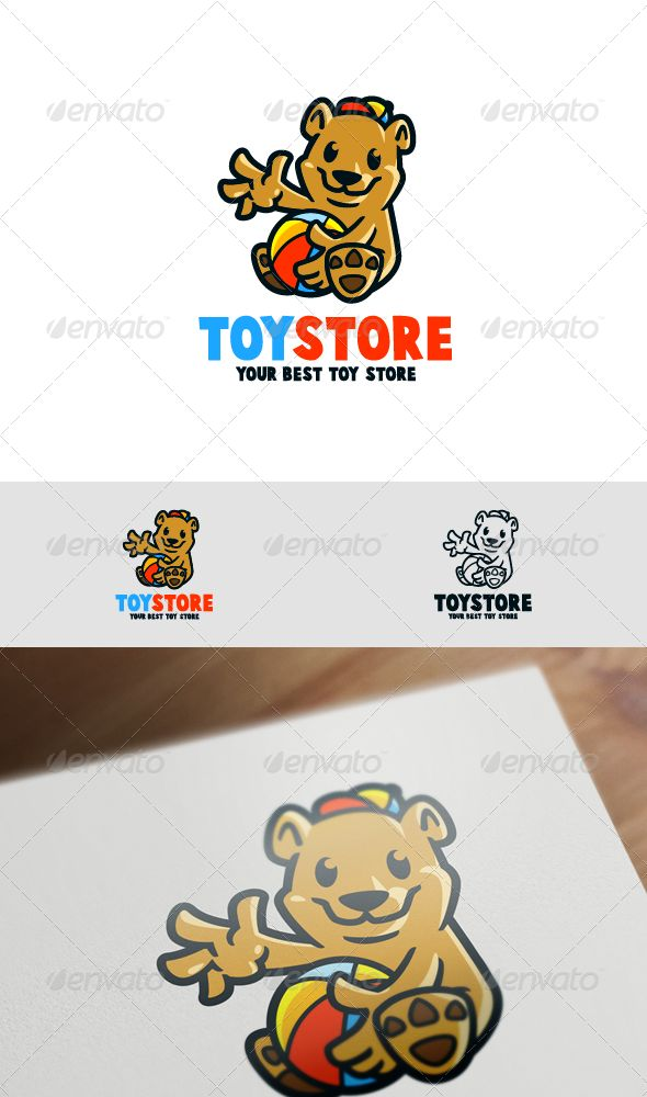 Bear Cubs Mascot Logo — Vector EPS #cubs logo #smile • Available here → https://graphicriver.net/item/bear-cubs-mascot-logo/8070209?ref=pxcr