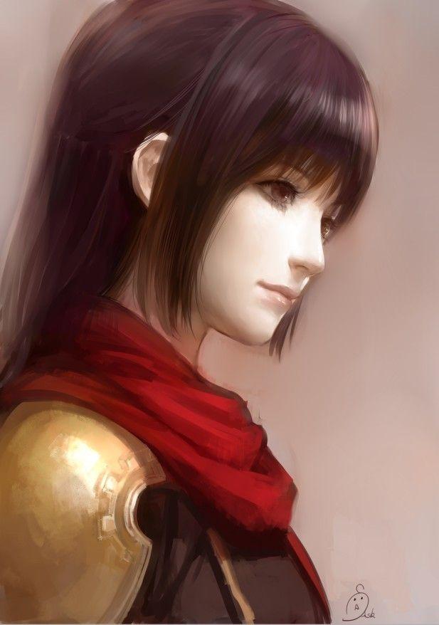 girl fantasy art