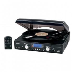 JENSEN 3-SPEEED LP VINYL RECORD PLAYER 33/45/78 RPM USB MP3 ENCODING SYSTEM | eBay