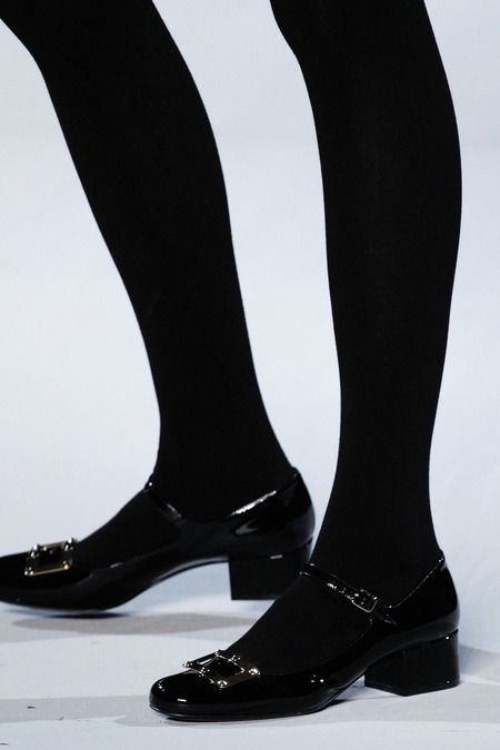 Dear Hedi Slimane, Thank you for bringing back mary janes.  Saint Laurent | Fall 2014 Ready-to-Wear Collection |