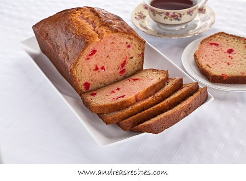 Maraschino Cherry Bread (Made especially for my Grandmother.)