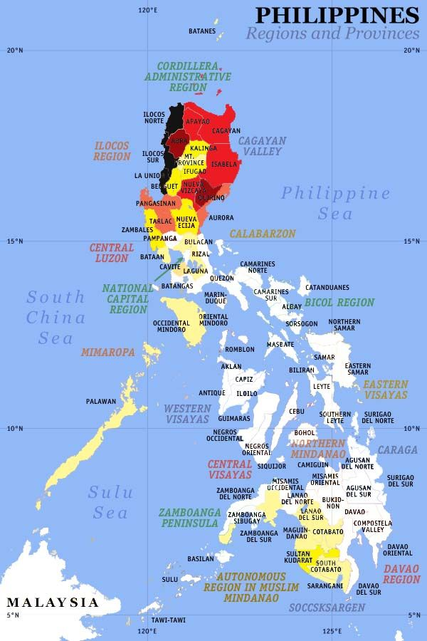 50 best Maps of the Philippines images on Pinterest  The