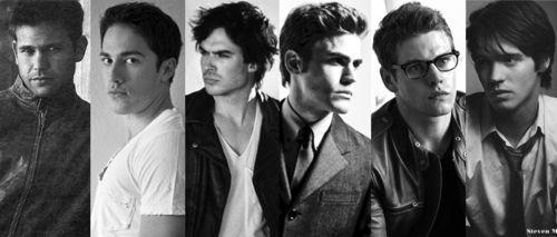 Vampire Diaries Boys!.... DROOL!!!!! <3