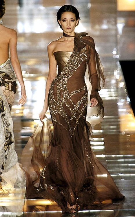 Elie Saab....I'm obsessed with gowns from Elie Saab. If only I had a life that warranted gown wearing...