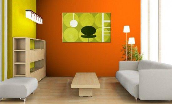 Cómo Pintar las Paredes de dos Colores - Para Más Información Ingresa en: http://fotosdesalas.com/como-pintar-las-paredes-de-dos-colores/
