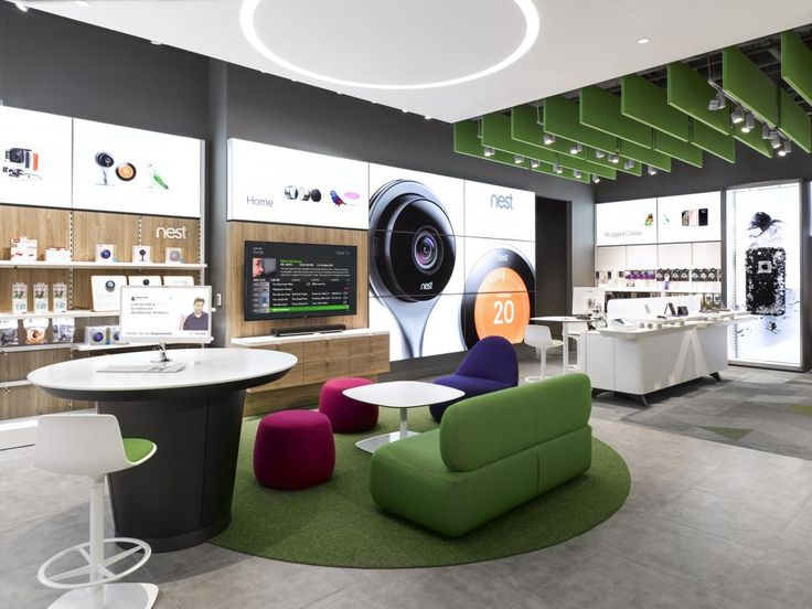 We Worked With Lightbrigade To Illuminate The TELUS Store At The Toronto  Eaton Centre Using Fixtures