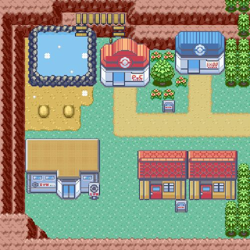 Lavaridge Town, Hoenn Region