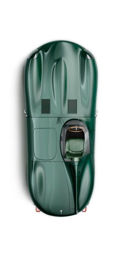 "loveharleys: ""Jaguar D-type """