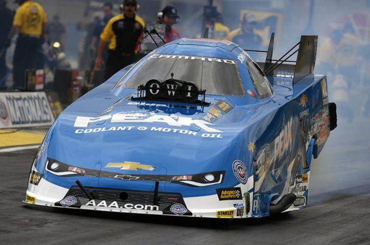 Motor'n | Can PEAK Coolant and Motor Oil Chevrolet driver John Force snap Houston dry spell?