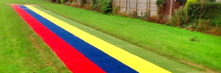 Synthetic Turf Athletics Track | Needlepunch Athletic Tracks Artificial Surfacing : Artificial Grass & Synthetic Turf