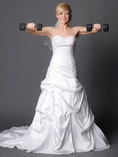 Every bride wants to look their best on their wedding day. You plan to go to the gym and lose weight before the BIG DAY, but weeks and months go by and you haven't started your wedding workout rou...
