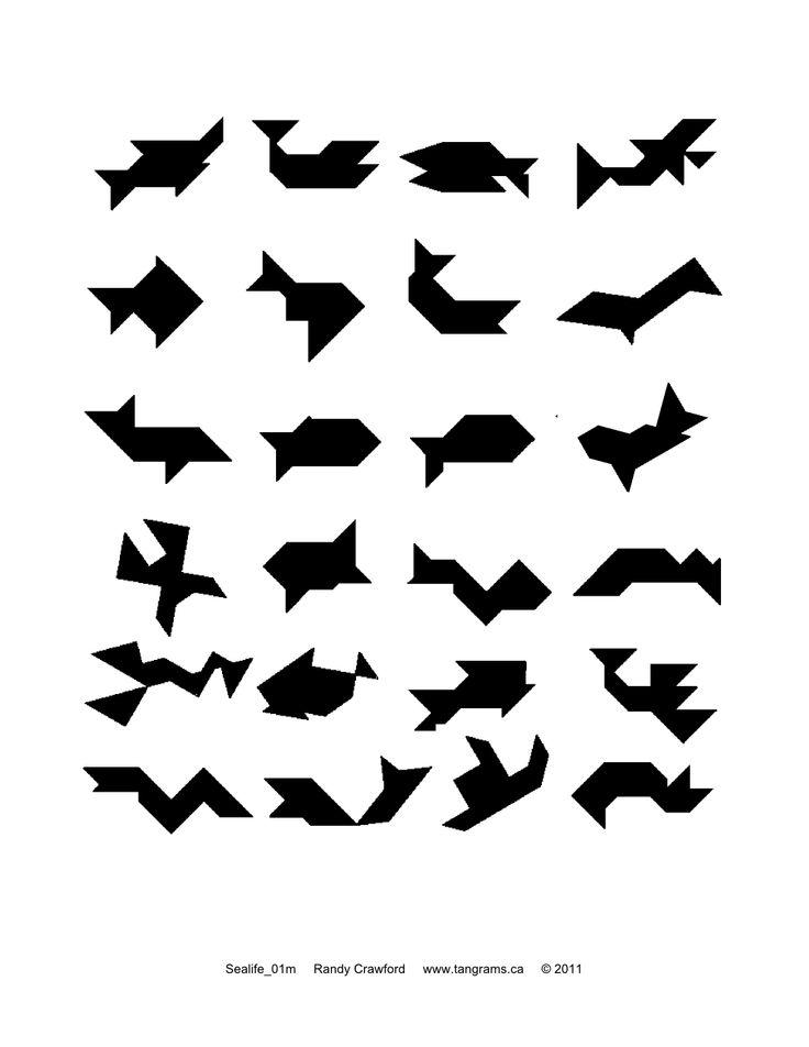 sealife tangrams
