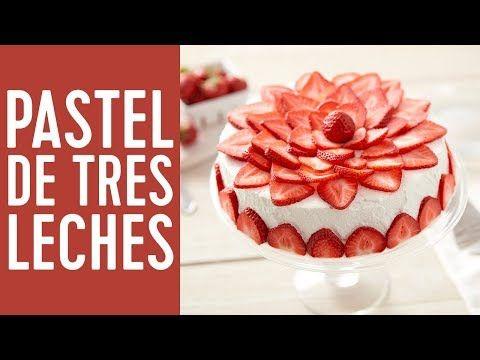 Cómo hacer un pastel de tres leches - YouTube