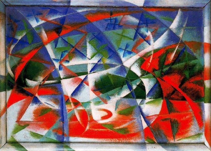 Afbeeldingsresultaat voor abstracte snelheid futurism