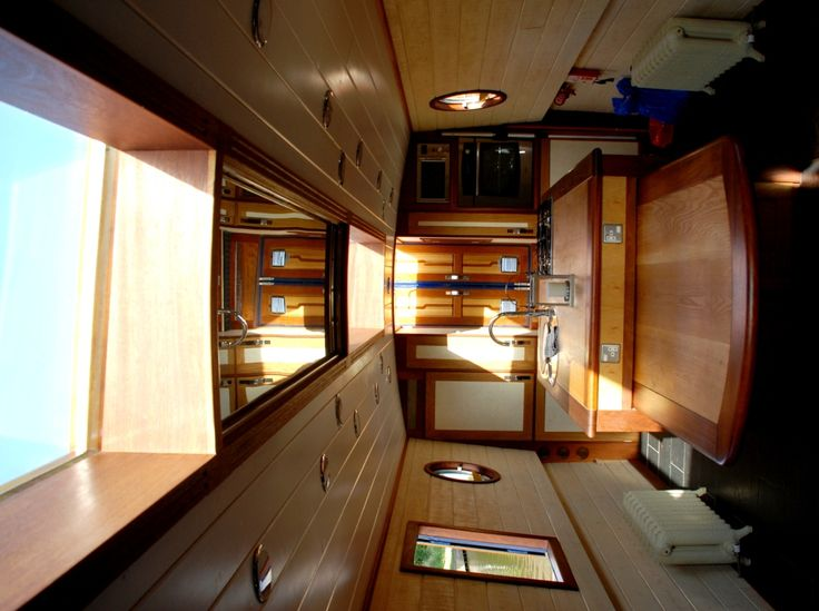13 Best Narrowboat Interiors Images On Pinterest