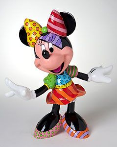 Minnie Mouse - Minnie - Britto - Romero Britto - World-Wide-Art.com - $60.00 #Britto #Minnie