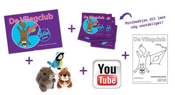 Kinderboekenweek 2015 - De Vliegclub http://onderwijsstudio.nl/kinderboekenweek-2015/