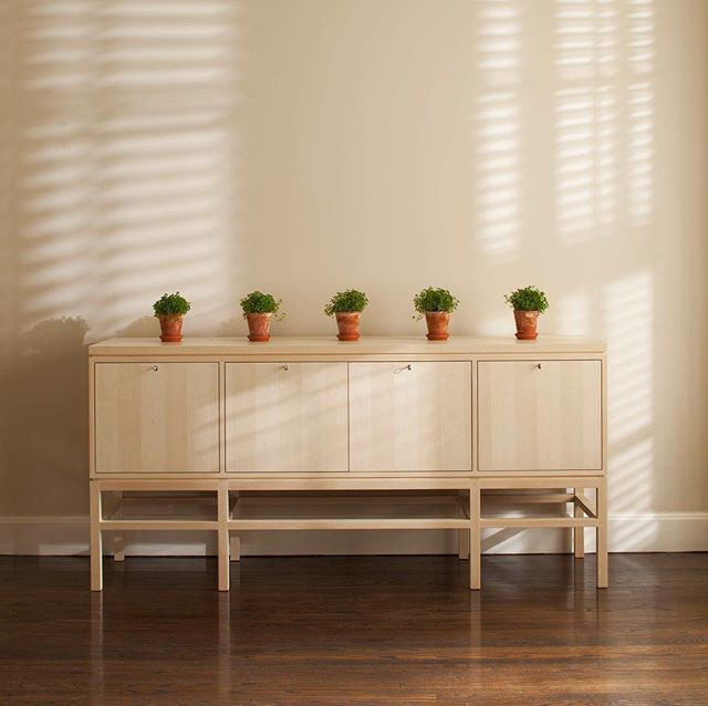 The Anders Buffet Draws Influences From The Clean Lines And Precise Details  Of Scandinavian Furniture And