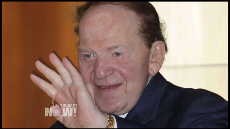 As Senate GOP Blocks DISCLOSE Act, Top Donor Sheldon Adelson Probed for Bribery and Mob TiesAdelson Las, America Wealthiest, 2012 Election, Sheldon Adelson, Adelson Eye, America Shrugs, 2014 Election, Billionaire Sheldon, Newt Gingrich