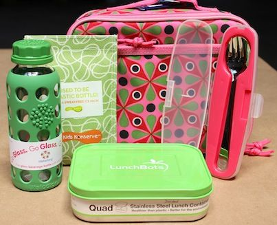 Reusable lunch gear that is durable, cool and free of harmful chemicals. #wastefreelunch