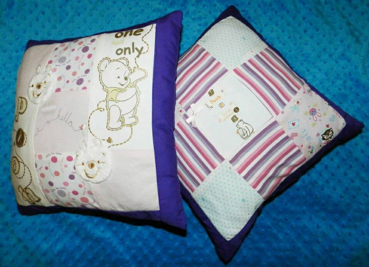 patchwork memory cushion with standard backing £13 plus p+p